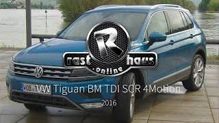 Download VW Tiguan 2.0 TDI SCR Blue Motion 4Motion Test 2016 Video