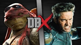 Download Raphael VS Wolverine (TMNT VS X-Men) | DBX Video