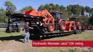 Download PJ Trailers Customized B8 40 Ft 3 axle Gooseneck Trailer Walk Through Video