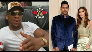 Download AMIR KHAN DROPS BOMBSHELL! SAYS HIS WIFE IS CHEATING W ANTHONY JOSHUA AND WANTS DIVORCE Video