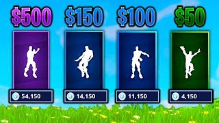 Download GUESS THE DANCE VBUCKS CHALLENGE in Fortnite Battle Royale (IMPOSSIBLE) Video