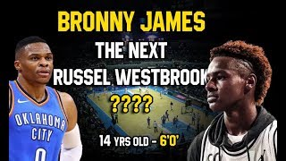 Download Bronny James The Next Russel Westbrook or LeBron James? Video