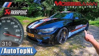Download 620HP BMW M4 MOSSELMAN TURBO AKRAPOVIC 310km/h REVIEW POV on AUTOBAHN & ROAD by AutoTopNL Video