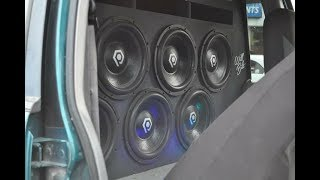 Download 6 SoundQubed HDS2 12″s on 2 Hifonics 1700 Video