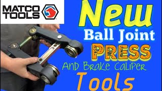 Download Matco's New Ball Joint Press and Brake Caliper Tools: Our first look at it Video