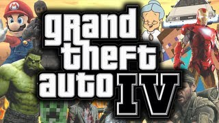 Download GTA 4: Mods - BEST MOMENTS MONTAGE! - (Funny Gaming Moments Montage) Video