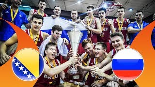 Download Bosnia and Herzegovina v Russia - Final - Full Game - FIBA U16 European Championship Division B 2018 Video