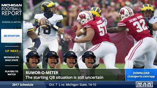 Download Michigan Football Rumors Roundup - Ohio State Week Video