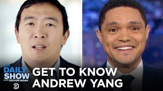 Download Getting to Know Andrew Yang | The Daily Show Video