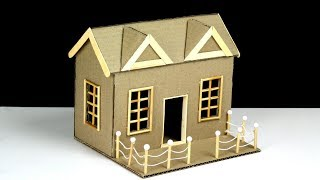 Download How To Make a Beautiful Cardboard House (with dimensions) Video