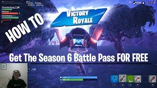 Download A fast way to get the Battle Pass for free in Fortnite Season 6 Video