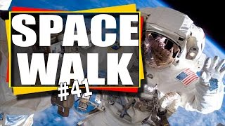 Download Gopro Video: Spacewalk #41 NASA HD Action Cam Video / Earth from space Video