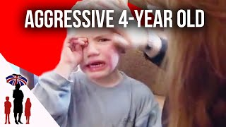 Download Parents Struggle With Aggressive 4 Year Old | Supernanny Video