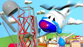 Download Look out Hector the Helicopter !! - Amber the Ambulance in Car City l Cartoons for Children Video