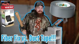 Download Is Fiber Fix REALLY 100X Stronger Than Duck Tape? Video