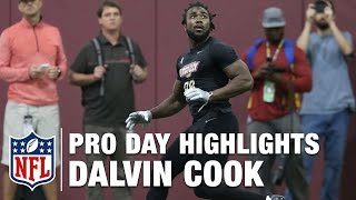 Download Dalvin Cook Pro Day Highlights and Path to the Draft Analysis | NFL | Path to the Draft Video