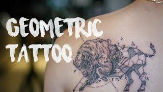 Download GEOMETRIC TATTOO รอยสักกระทิง Video
