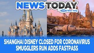 Download Coronavirus Closes Shanghai Disney, Galaxy's Edge Adds FastPass, Tiers Change - News Today 1/24/20 Video