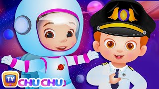 Download What do you want to be? Jobs Song - Professions Part 1 - ChuChu TV Nursery Rhymes & Songs for Babies Video