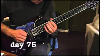 Download A(nother) guy practices guitar for 100 days (sweep picking) Video
