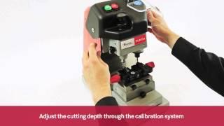 Download Mechanical key cutting machine for Volkswagen and Audi laser keys | Keyline Punto Video