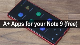 Download 5 Must-Have Apps for Samsung Galaxy Note 9 (free & without ads) Video