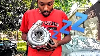 Download INSTALLING THE EBAY TURBOCHARGER 😲 Video