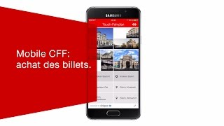 Download Mobile CFF: achat des billets. Video