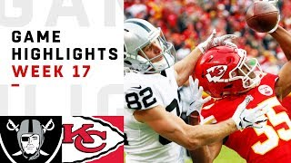 Download Raiders vs. Chiefs Week 17 Highlights | NFL 2018 Video