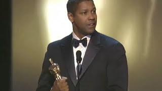 Download Denzel Washington Wins Best Actor: 2002 Oscars Video