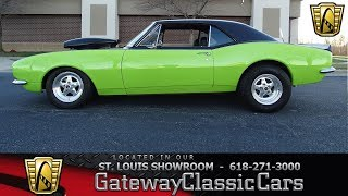 Download #7573 1967 Chevrolet Camaro - Gateway Classic Cars of St. Louis Video