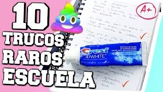 Download 10 TRUCOS RAROS De Escuela Que Háran Tu Vida Más Fácil! Video