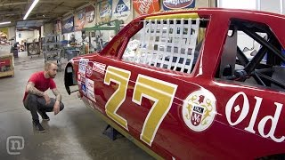 Download Classic Tim Richmond & Dale Earnhardt NASCAR Restorations: Garage Tours w/ Chris Forsberg Video