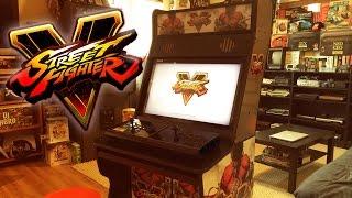 Download Street Fighter 5 - Custom Arcade Cabinet Video