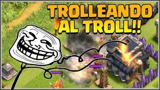 Download 😏TROLLEANDO A UN TROLL jaja😏 - MI TH8 VS TH9 - A por todas con Clash of Clans - Español - CoC Video