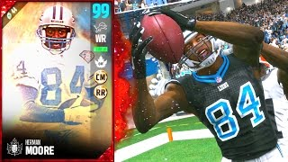 Download 99 OVERALL HERMAN MOORE! CRAZIEST MADDEN PLAY EVER! - Madden 17 Ultimate Team Video
