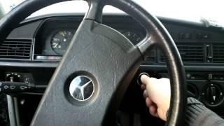 Download Mercedes w201 190d 2.5 diesel cold start Video