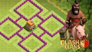 Download O Melhor Layout Anti Estrelas para CV6   Clash of Clans   2016 Video