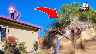 Download INSANE ROOF JUMP Has a Very BAD Ending... **IS HE OKAY?!** Video