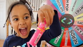 Download Giant Candy Magic Spin the Wheel Kids Pretend Play | FamousTubeKIDS Video