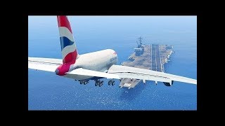 Download Top 5 most dangerous airports in the world! -=HD=- Aircraft landing in a side wind with no crash es Video