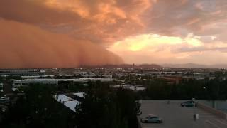 Download Haboob Dust Storm Phoenix AZ 7/3/2014 Video