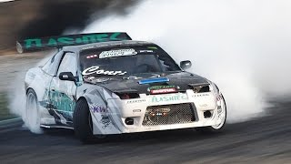 Download 800hp Nissan 200SX S13 Drift + On Board - Francesco Conti' Drifting Weapon Video