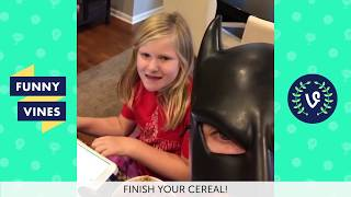 Download TRY NOT TO LAUGH or GRIN: BatDad Vines Compilation 2017 | Funny Vine Video