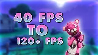 Download HOW TO GET MORE FPS IN FORTNITE BATTLE ROYAL!! NEW METHODS!! (WORKING 2018)! Video
