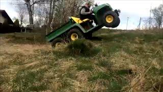 Download John Deere Gator 6x4 at work Video