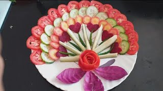 Beautiful Tomato Rose With Radish Carrot Cucumber Add Up Free