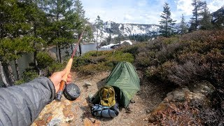 Download Solo Backpacking the High Sierras With Creepy Sounds at Night Video