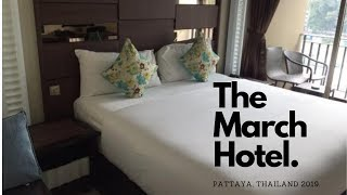 Download March Hotel Pattaya, Thailand 2019 Hotel room review. Video