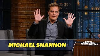 Download Michael Shannon Dishes on Filming The Shape of Water Video